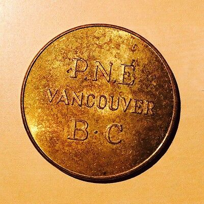 PNE Pacific National Exposition Vancouver BC Good For One Adult Admission Token
