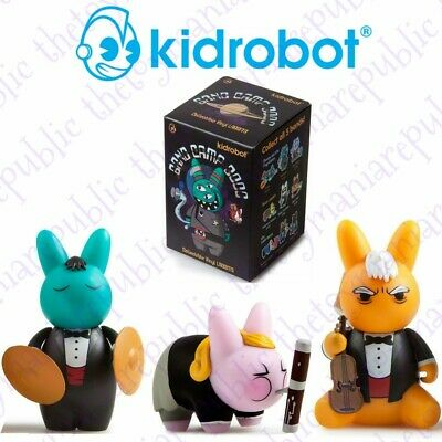 Set 3 Kidrobot Labbit Band Camp 3000 Mini Series Figure The Chub Harmonic Band for sale  Shipping to Canada