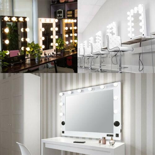 Hollywood LED Vanity Mirror Bluetooth Audio-enabled Speakers