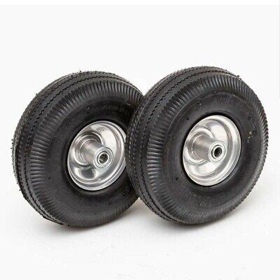 Lapp Set Of 2 Wheels 4.103.50-4 Wagon Utility Cart Tires 10 Max Load 250lbs