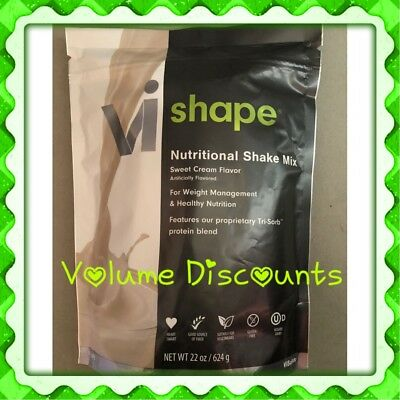 1x Visalus Body By Vi Shape Best Tasting Shake Mix 22 oz bag, 24 Meals Exp