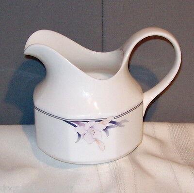 Royal Doulton NIMBUS 1988 Floral Iris Design China Porcelain Oversized Creamer