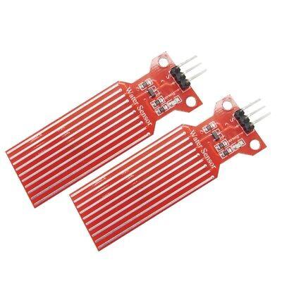 2 Pcs Water Level Sensor Depth Of Detection Water Sensor For Arduino N78