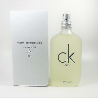 CK One By Calvin Klein EDT Unisex 6.8 Oz - 200 ml *NEW IN TST BOX*