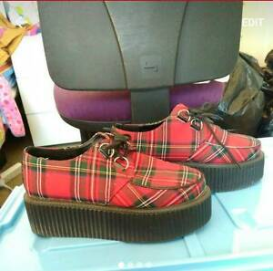 Rockoco Plaid Creepers Size 38 Clayton Monash Area Preview