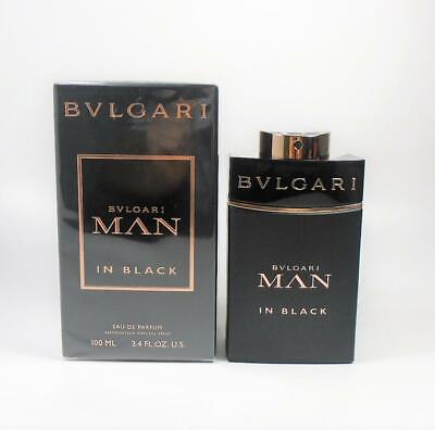 Bvlgari Man In Black by Bvlgari for Men EDP 3.4oz / 100ml *NEW IN SEALED (Bvlgari Mens)