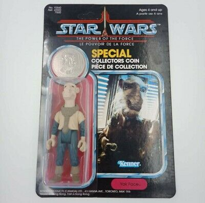Vintage Star Wars Figure Yak Face POTF Cardbard CUSTOM