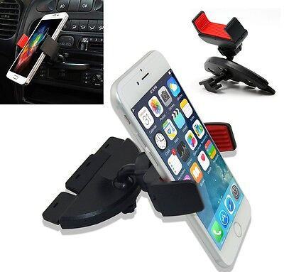 CD Slot Car Mount Holder for iPhone 5 6 6S 7 Plus Samsung Galaxy Phone GPS