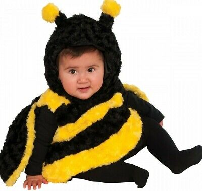 Toddler Boy Bumble Bee Costume (Bumblebee Baby Costume - Infant Toddler Sizes - Boys Girls Cute Bug Bumble)