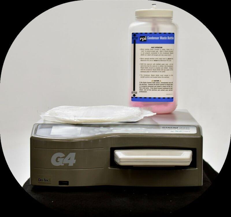 SciCan Statim 2000 G4 2015 Cassette Autoclave Dental Sterilizer Unit 110V