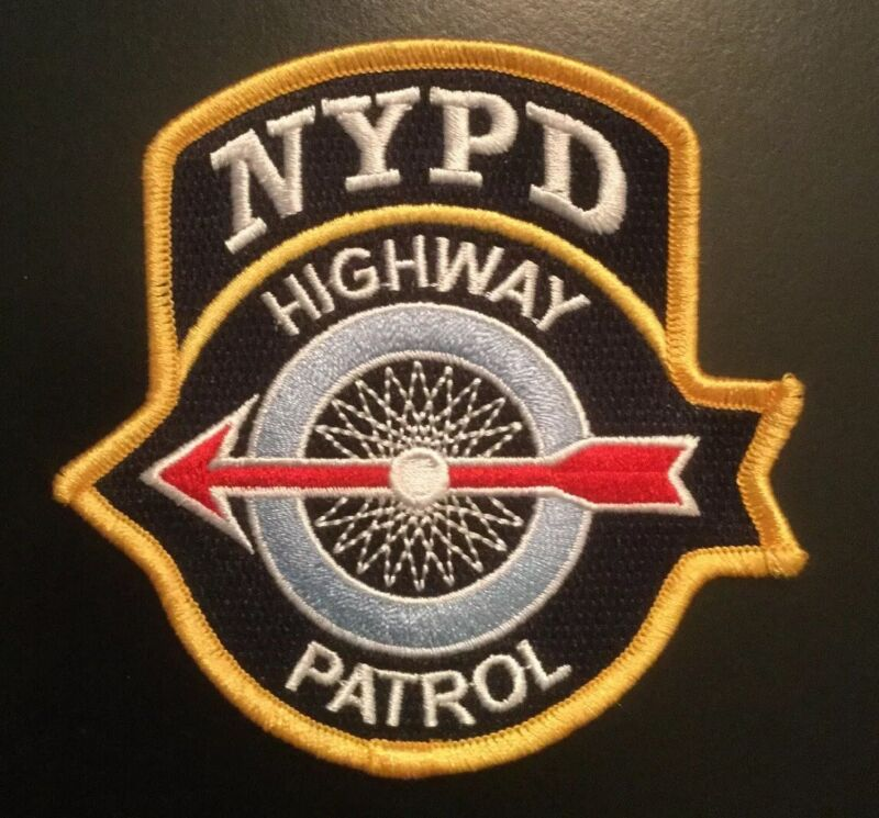 NYPD NYC Highway Patrol Police Brand New NYS PATCH *last quantity