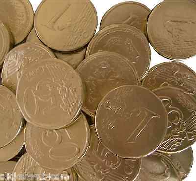 3 kg Hitschler Goldmünzen Goldtaler Schokotaler Kaubonbon 3000g Schokolade Taler ()