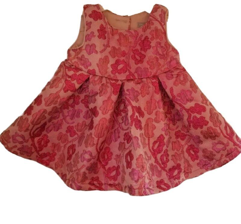 Vestido de niña bebé 3-6 meses sin mangas Ropa de fiesta baby dress)free shippin