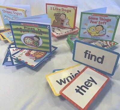 60 children's books Sight Word Kit Guided Reading Level A,B,C, D Kindergarten Reading Sight Words