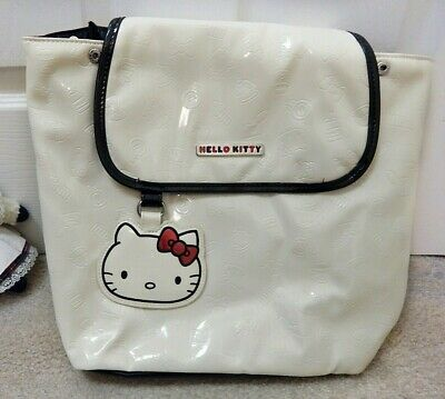 Never used Sanrio Hello Kitty white backpack purse for girls women (Hello Kitty Backpacks For Girls)