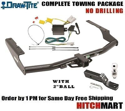 FITS 2014-2019 TOYOTA HIGHLANDER CLASS 3 TRAILER HITCH PACKAGE  2