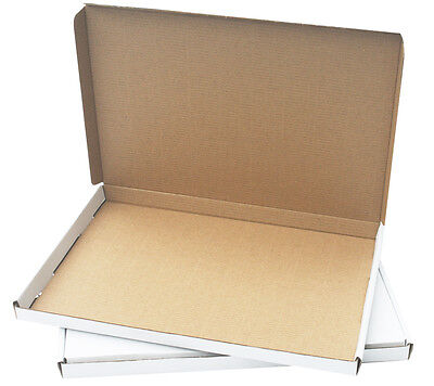 Royal Mail Large Letter Size Postal Boxes 330x234x19mm White 25 / Pack