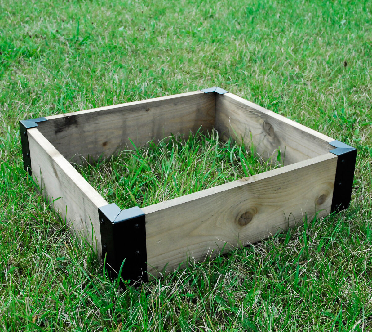 Small corner brackets raised bed bedding vegetable planter - Raised garden bed corner brackets ...