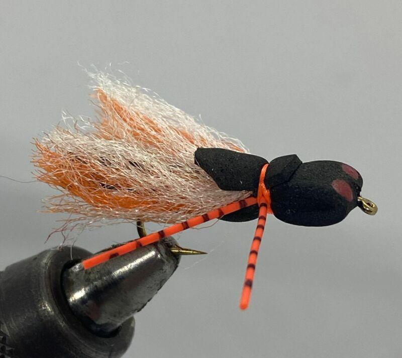 One Dozen (12) - Foam Cicada - Dry Fly
