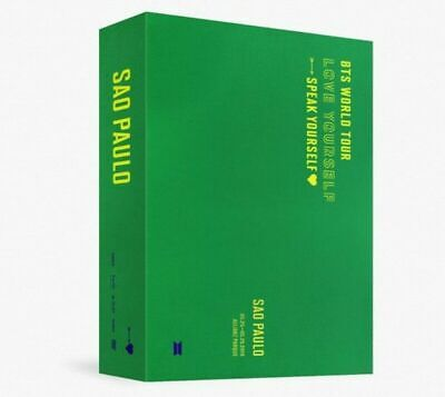 BTS  World Tour Love Yourself Sao Paulo DVD Full Package Sealed