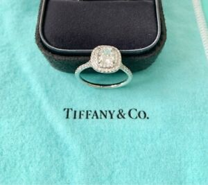 Tiffany and Co Engagement Ring 0.93