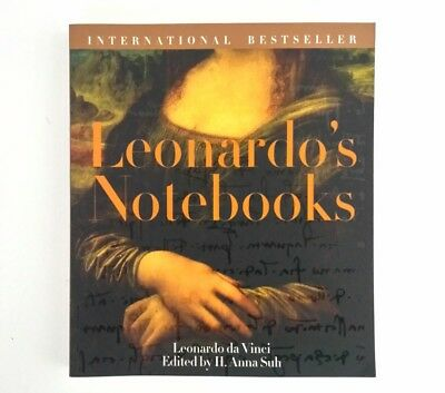Leonardo's Notebooks Writings Drawings Leonardo da Vinci Art Coffee Table Book