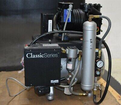 Midmark Classic Series Cl21 Dental Air Compressor Unit Oiled 1 Hp 115v