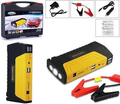 Booster Starter Avviatore batteria auto,moto,emergenza,power bank portatile 12V