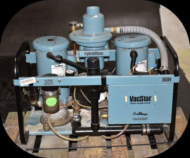 Air Techniques VacStar 80H Dental Dentistry Vacuum Pump 71 Decibels 4HP