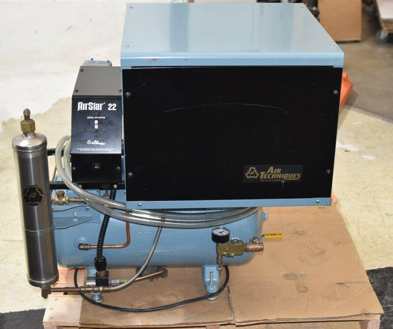 Air Techniques AirStar 22C Dental Air Compressor REFURBISHED w/ 1 YEAR WARRANTY