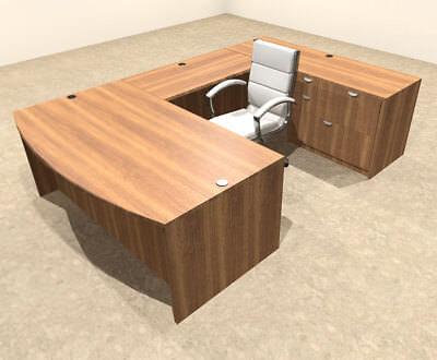 4pc U Shaped Modern Executive Office Desk Ot-sul-u5