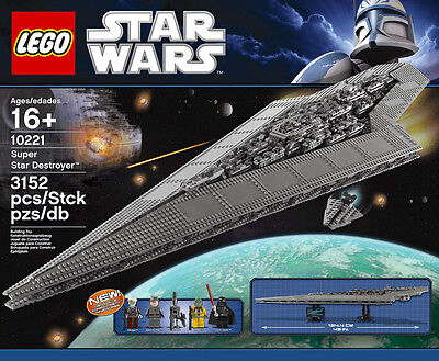 Lego Star Wars Ultimate Collector's Series Super Star Destroyer 10221 NEW MISB