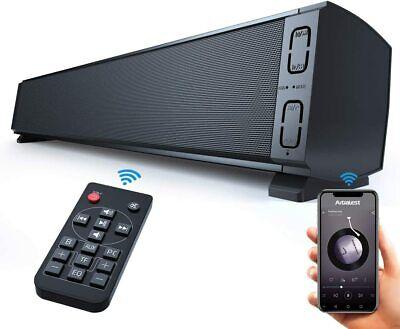 Bluetooth Inalámbrico Sonido Altavoz Hogar Audio PC TV Teléfono Portátil Mando