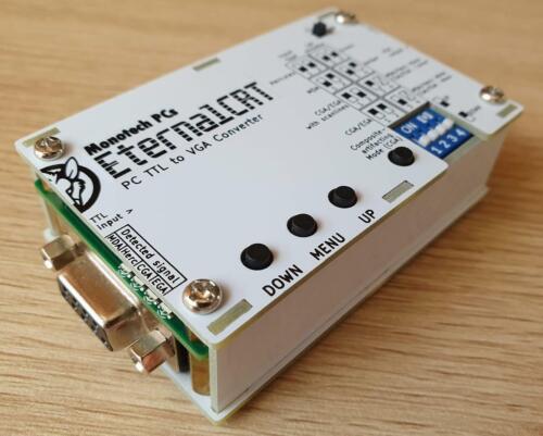 EternalCRT - MDA/CGA/EGA to VGA Converter Box (MCE2VGA)