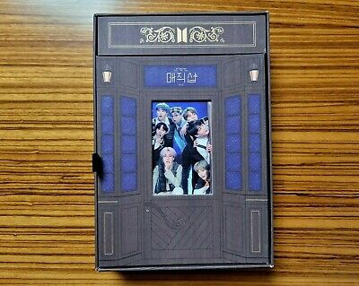 BTS 5TH MUSTER MAGICSHOP DVD 4Disc + Photobook Limited Edition