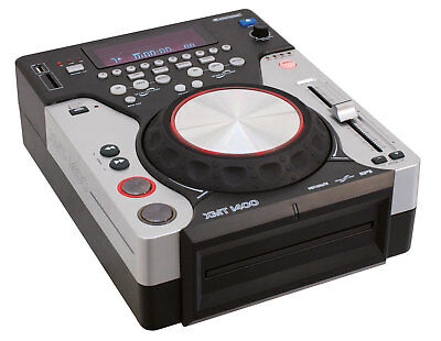 OMNITRONIC XMT-1400 DJ CD USB MP3 PLAYER PITCH SCRATCH LOOP CONTROLLER KONSOLE