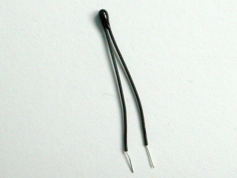 5x 10k Precision NTC Thermistor, High temp wires - USA SELLER - Free Shipping