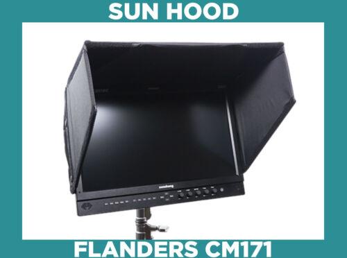 "FSI CM171 hood **** OEM FLANDERS SCIENTIFIC 17"" monitor Sunhood & rain cover"