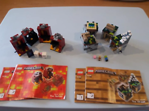 Lego Minecraft, city and more