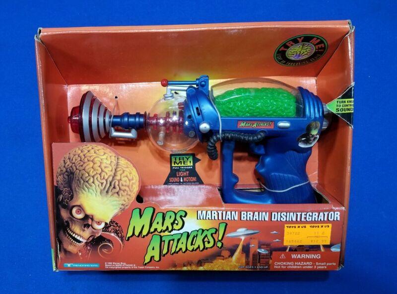 1996 MARS ATTACK Disintegrator RAYGUN MIB Trendmasters Martian Brain Space Gun