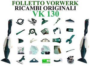 Ricambi sacchetti filtri motore scheda spazzola originali folletto vorwerk vk130 ebay - Scheda motore folletto vk 140 ...