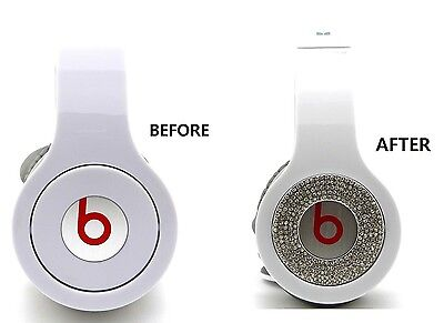 Bling Bling Round Pieces Accessory For Beats By Dr.dre So...