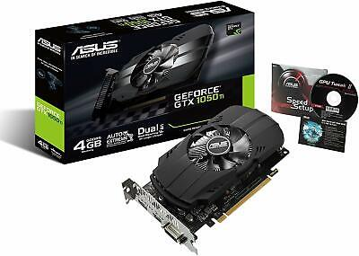 ASUS NVIDIA GeForce GTX1050TI mounted video card overclocking memory 4GB Nvidia Overclock Video Cards