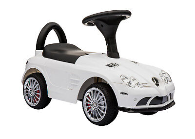 Foot Toy - Kids Ride On Car Foot to Floor Licensed Mercedes Benz Riding Push Toy Gift