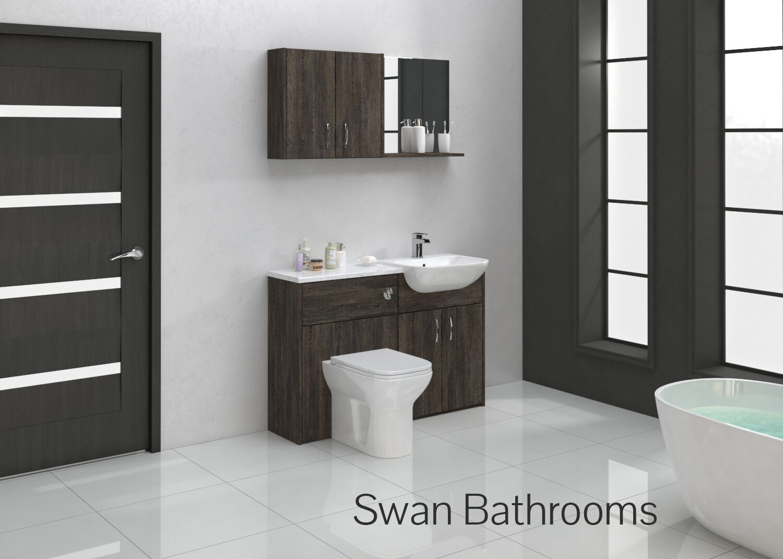 Wenge Bathroom Furniture Elegant Brown Wenge Bathroom Furniture  # Muebles Sixbros