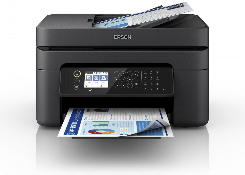 Epson Tintenstrahldrucker WorkForce WF 2850 DWF, 4-in-1-mit, WLAN, Schwarz, LCD