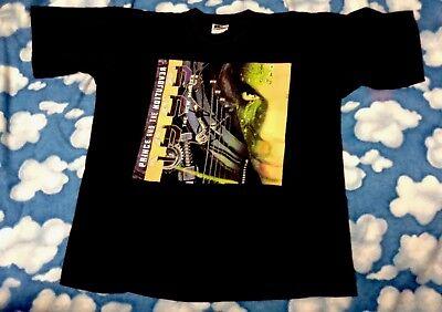 RARE vtg PRiNCE 1999 : THE NEW MASTER Promo t shirt XL tee SOFT tour concert