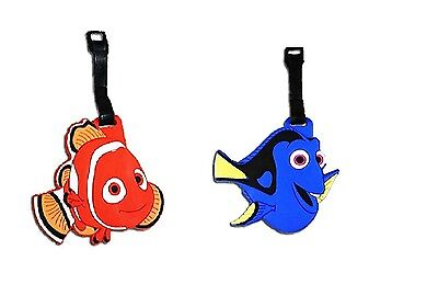 Disney Finding Nemo / Dory Luggage Back to School Bag Backpack Travel Name Tag