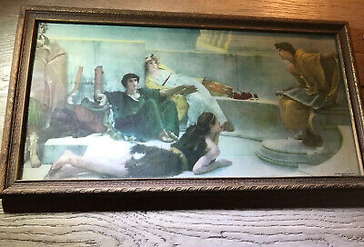Antique Morris And Bendien NY Victorian Litho Wood Original Frame