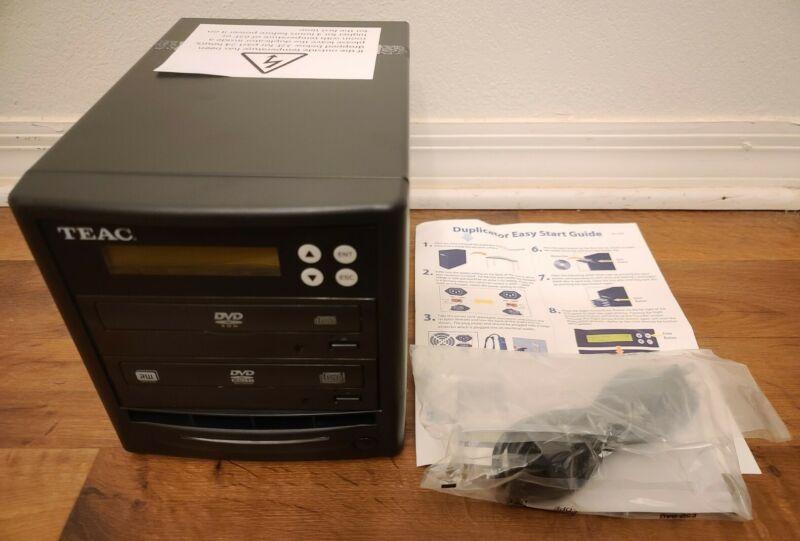 TEAC Stand Alone DVD/CD Duplicator Burner - New / Open Box!
